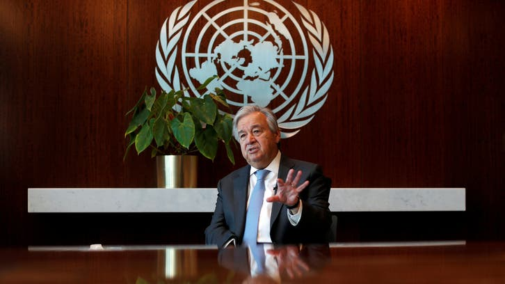 UN chief hails Libya ceasefire as 'fundamental step' toward peace