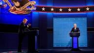 اشتباك عنيف وتلاسن حاد في المناظرة الأولى بين ترمب وبايدن