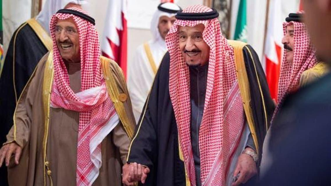 King Salman and Amir Kuwait