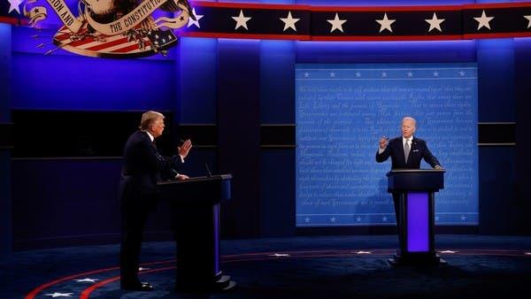 قبل أيام من نهاية السباق.. مناظرة أخيرة بين ترمب وبايدن