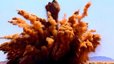 شاهد كيف دمر السودان 300 ألف سلاح غير شرعي بتفجير واحد