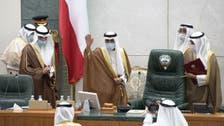 Kuwait's new Emir Sheikh Nawaf al-Sabah takes oath at the National Assembly