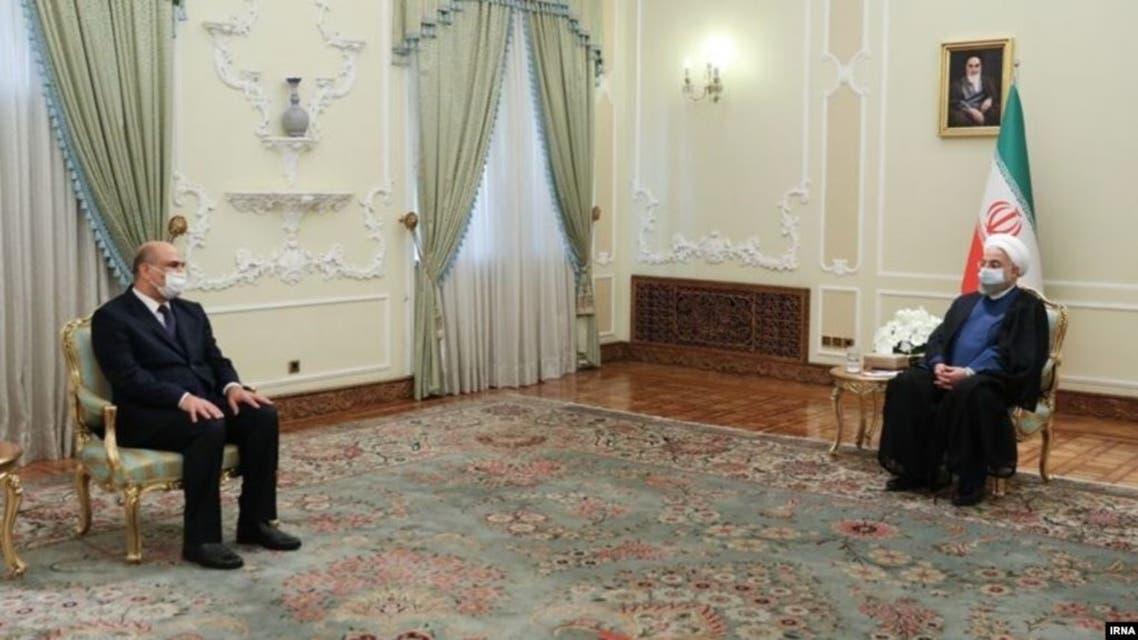 روحاني لدى استقباله سفير العراق اللجديد