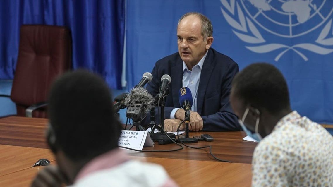 United Nations Mission in South Sudan (UNMISS) special representative David Shearer. (Twitter/@unmissmedia)