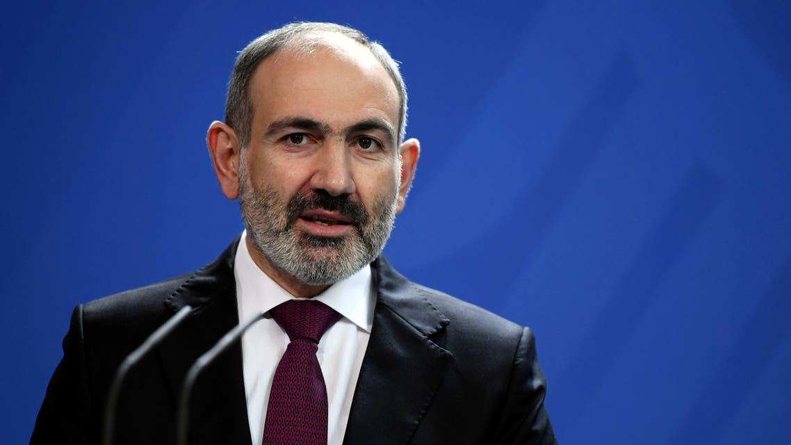 رئيس وزراء أرمينيا نيكول باشينيان.