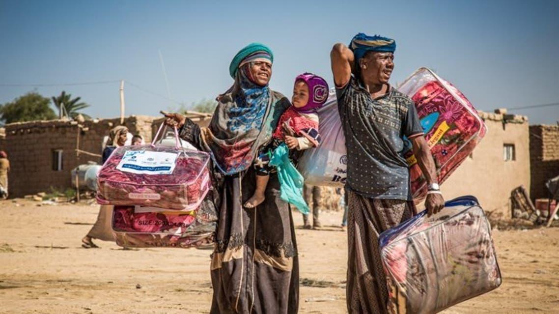 أزمة النازحين في اليمن