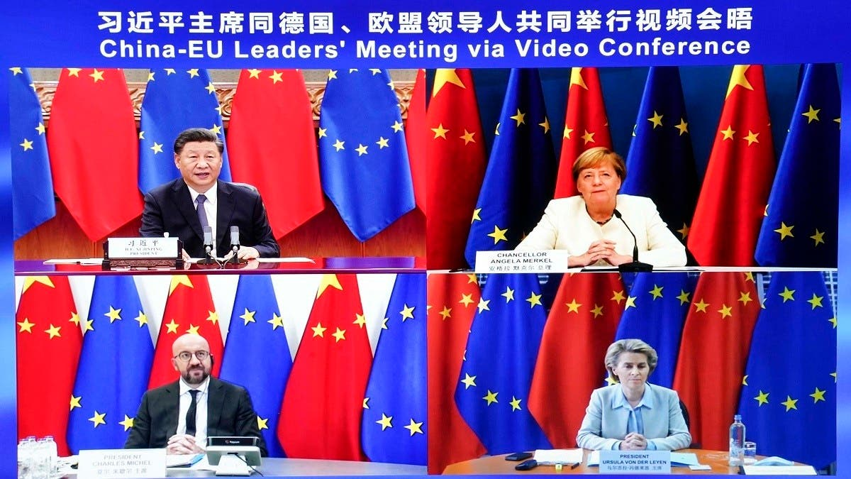 Berlin summit to be held on Nov 16  discuss Europe's complicated ties with China thumbnail