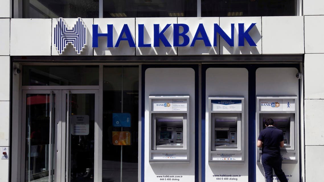 A customer uses an automated teller machine at a branch of Turkey's state-run lender Halkbank in Istanbul.  (File photo: Reuters)