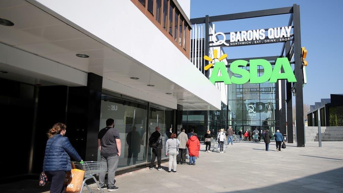 Asda supermarket in Northwich, Britain. (Reuters)_74363219_RC2DAJ9M65TT_RTRMADP_3_ASDA-WALMART-M-A
