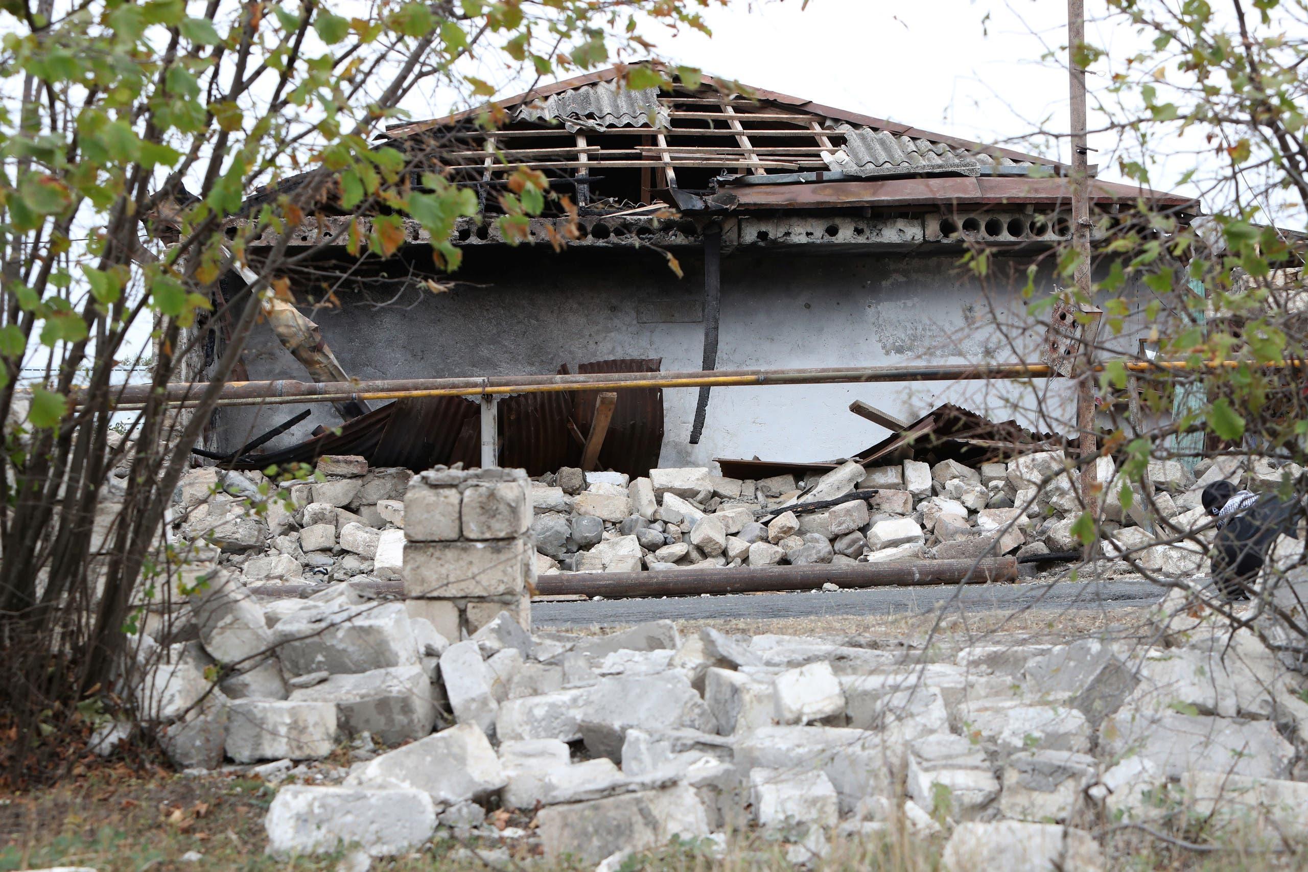 من إقليم ناغورنو كاراباخ يوم 1 أكتوبر