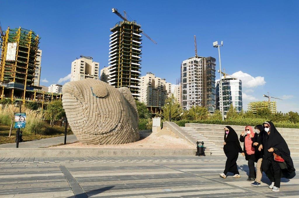 من شوارع طهران - فرانس برس