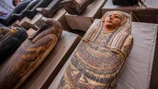 Egypt unveils 59 wooden coffins buried 2,500 years ago
