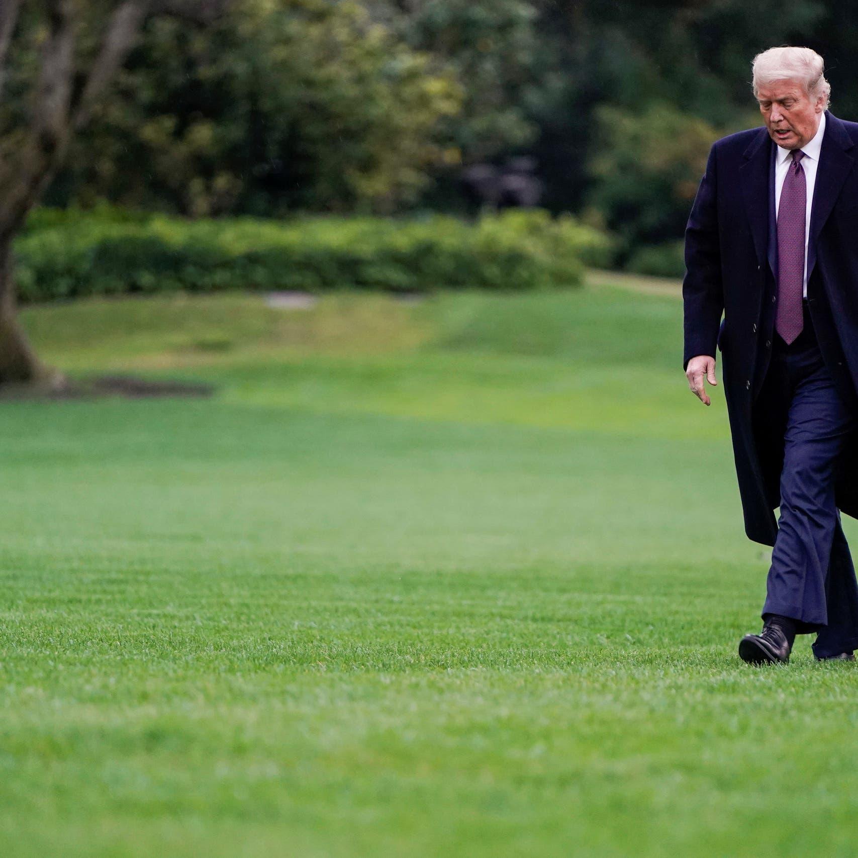 طبيب ترمب: الرئيس متعب لكن معنوياته جيدة