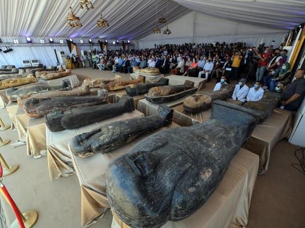 صور مذهلة.. أضخم كشف أثري في سقارة بمصر