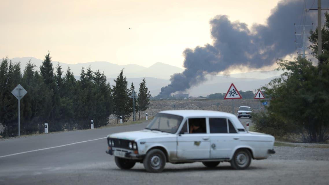 من ترتر إحدى مقاطعات أذربيجان يوم 2 أكتوبر