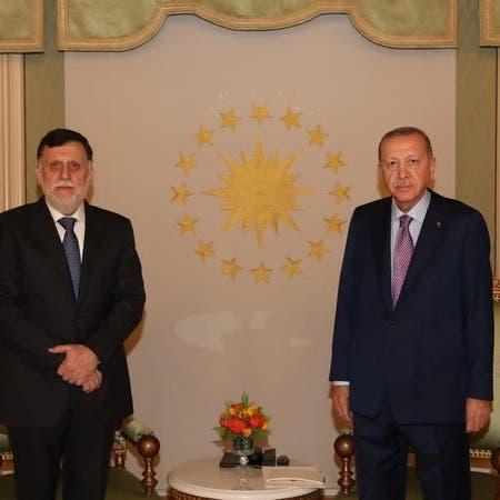 أردوغان يلتقي السراج في إسطنبول