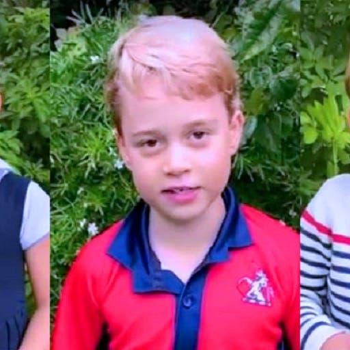 شاهد أبناء الأمير وليام يسألون أحد العلماء عن الحيوانات
