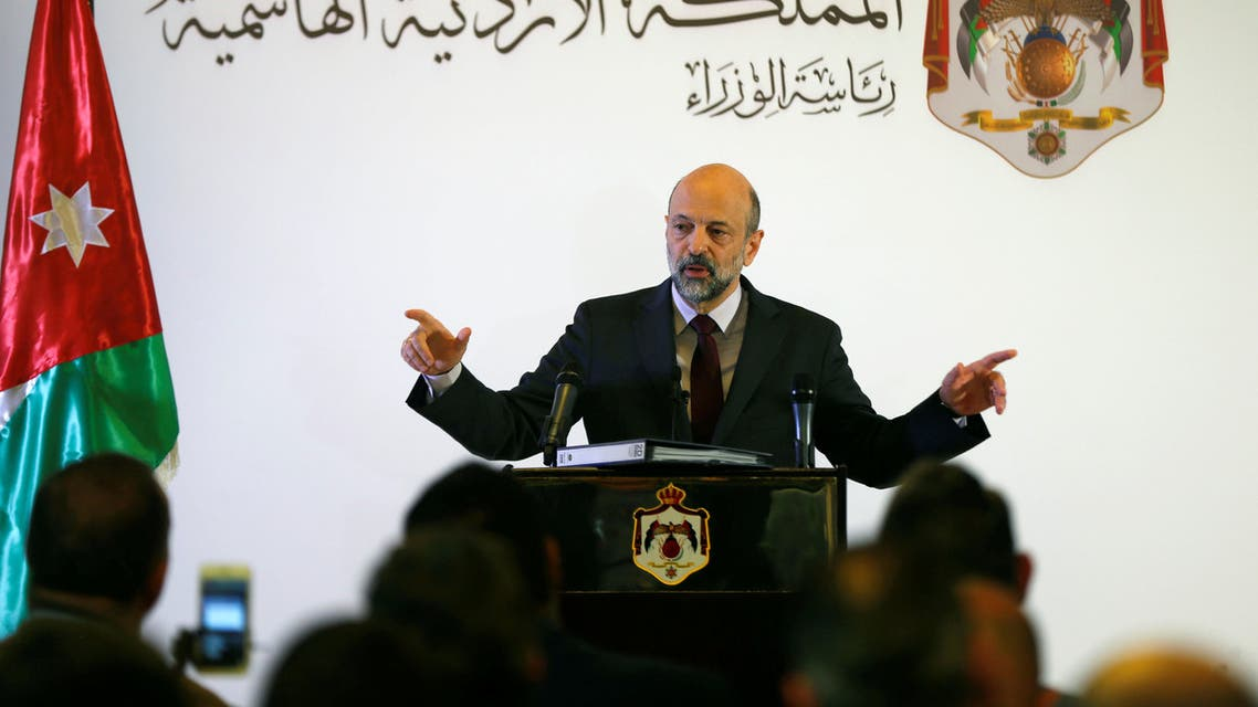 رئيس الوزراء الأردني عمر الرزاز