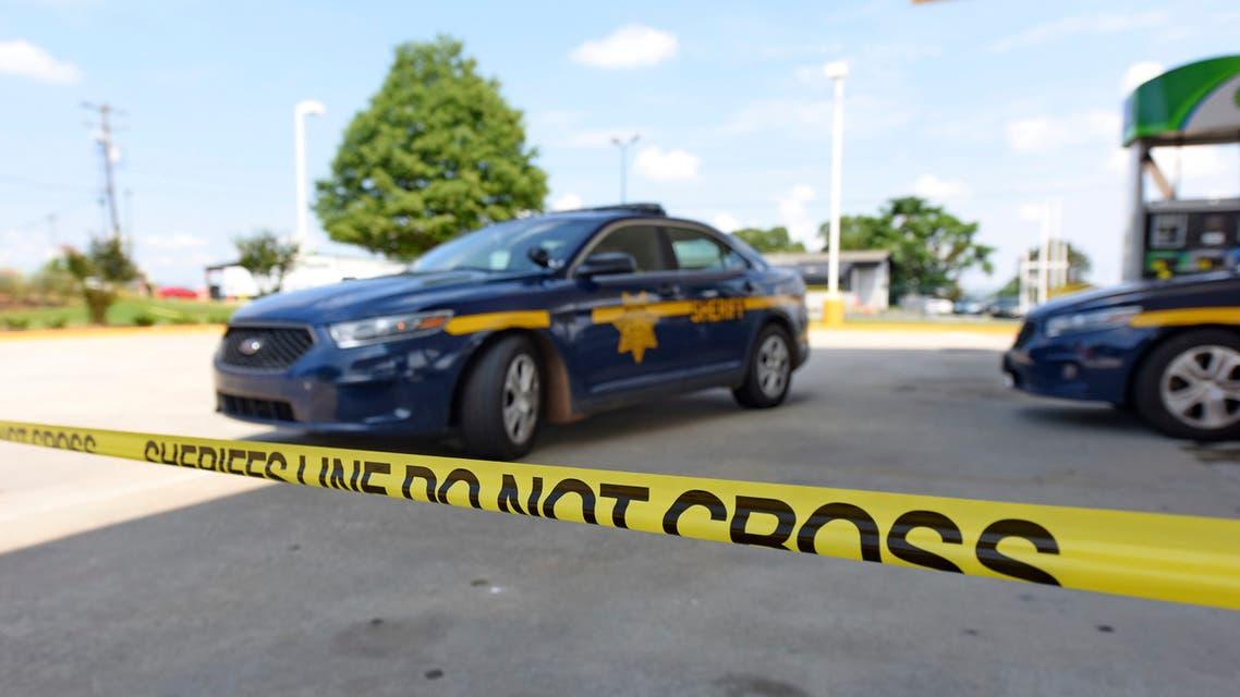 Police cars in South Carolina, US, in July 2020. (AP)