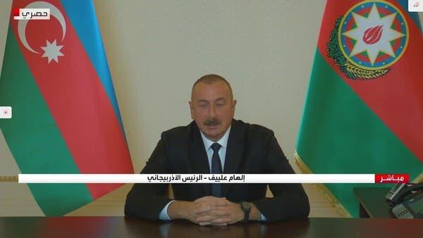 رئيس أذربيجان: لا يوجد مرتزقة لدينا.. والحوار هو الحل