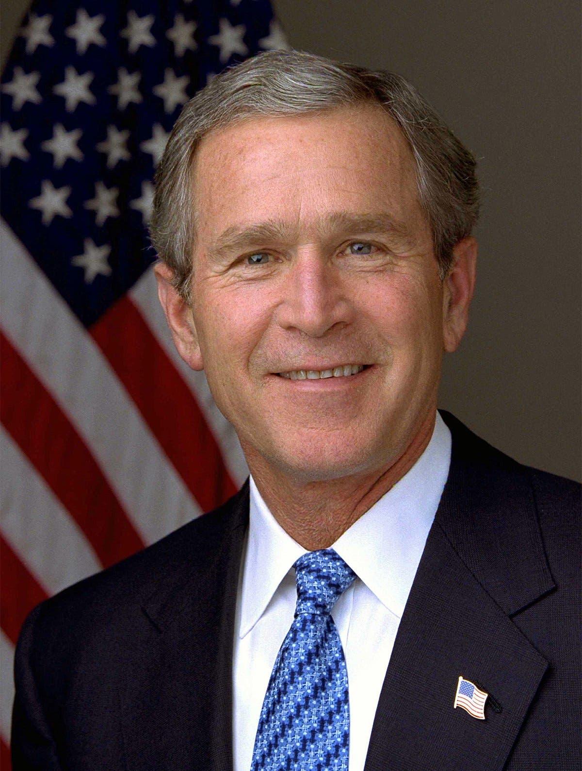 الرئيس جورج بوش الابن