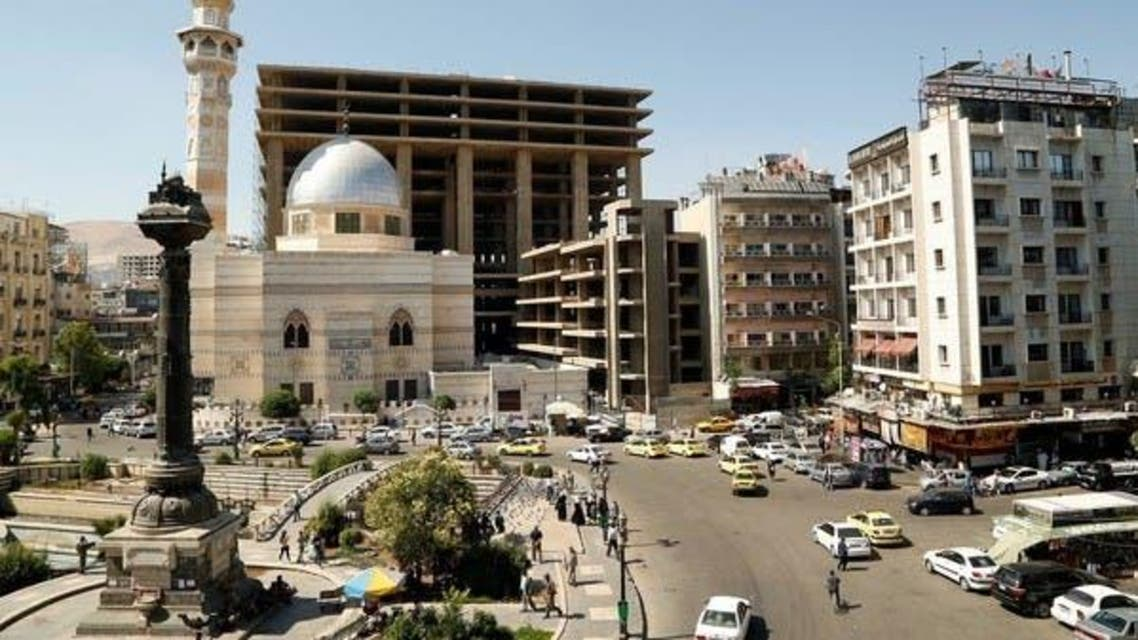 Marjeh Square in Damascus