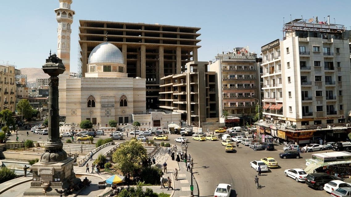A general view of the Marjeh Square in Damascus, Syria June 19, 2019. (Reuters/Yamam al-Shaar)