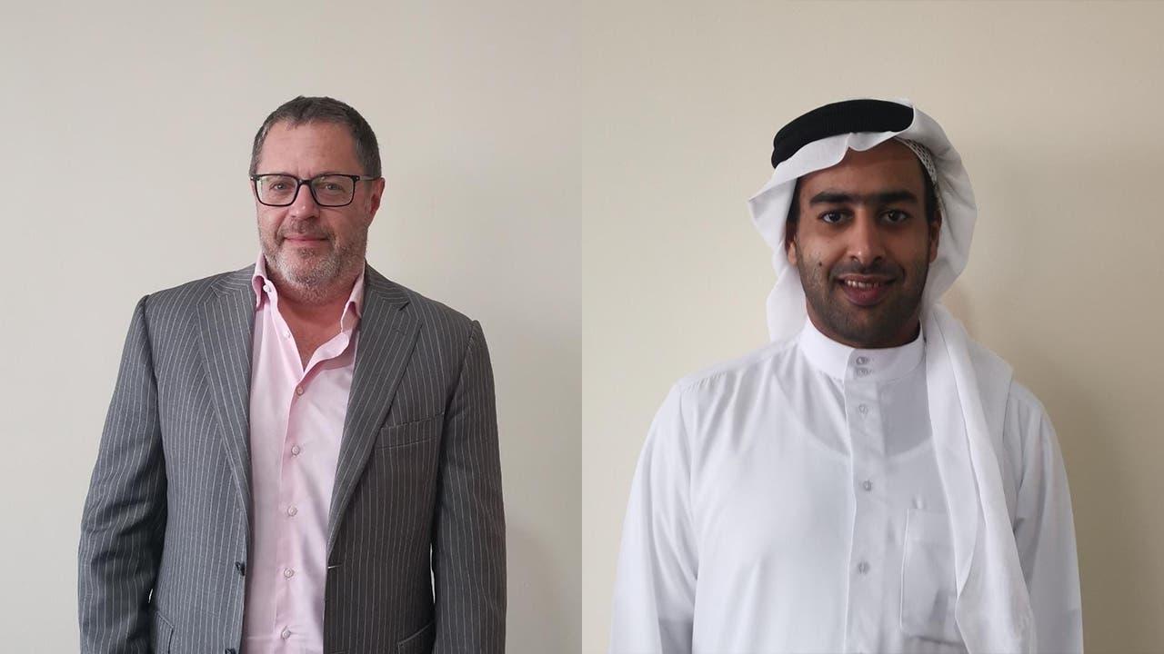 Alex Peterfreund, left, and Hamdan Alkindi, right. (Supplied)