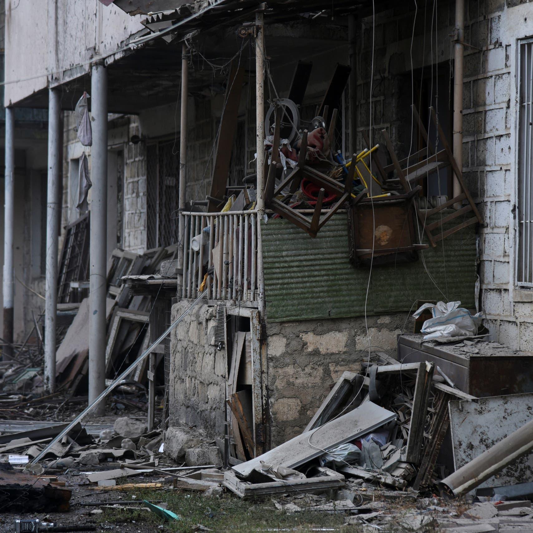 قذائف تسقط داخل إيران جراء اشتباكات أرمينيا وأذربيجان
