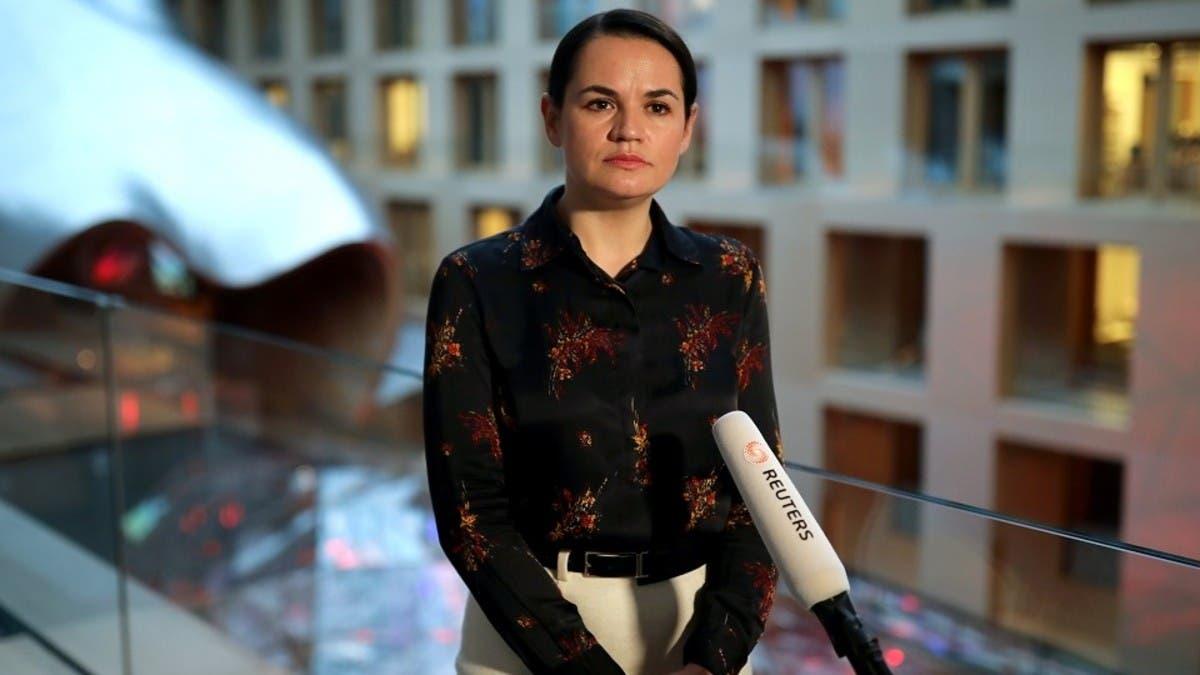 Coronavirus: Belarus opposition leader Tikhanovskaya in COVID-19 isolation thumbnail