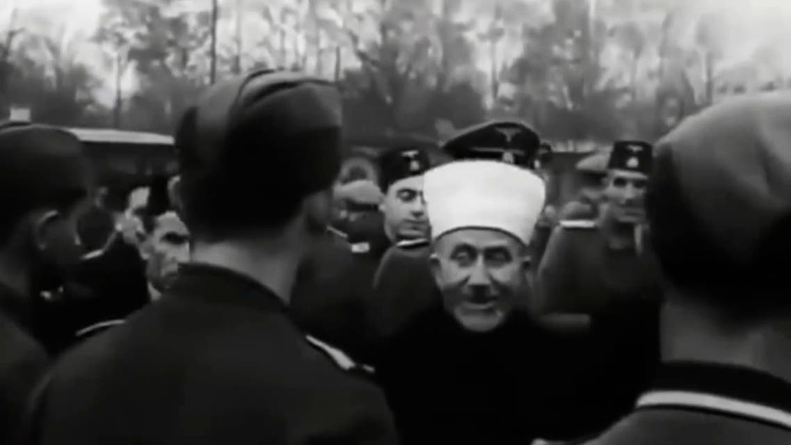 Mufti of Jerusalem Amin al-Husseini pictured during his visit to Nazi Germany in 1941. (Archive photo)