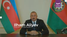 Azerbaijan leader demands full Armenian withdrawal, apology before any ceasefire