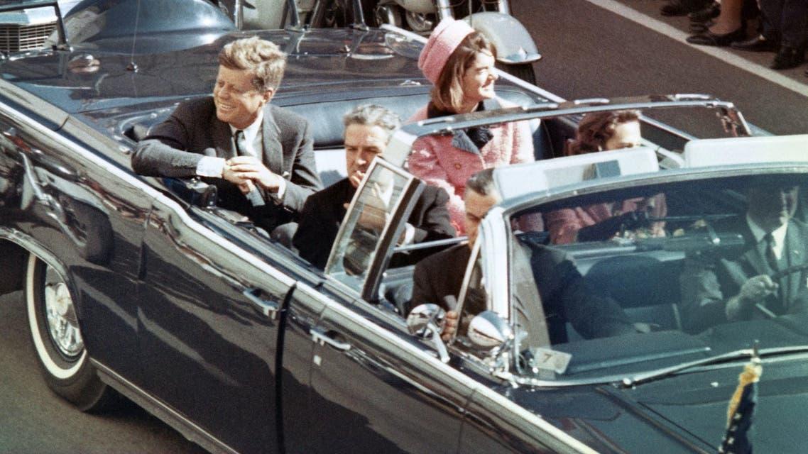 جون كينيدي قبيل عملية اغتياله
