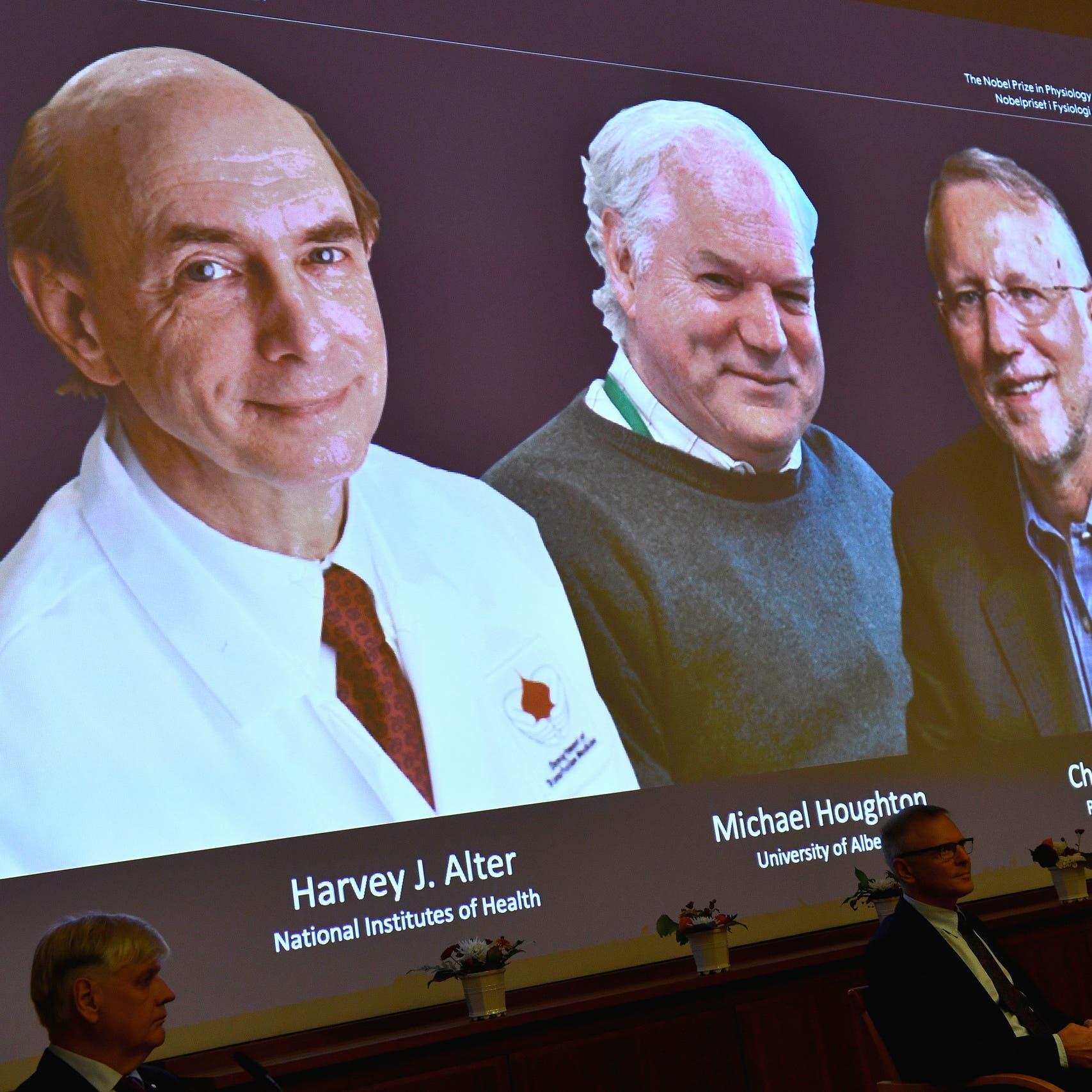 نوبل من نصيب 3 أطباء لدورهم بكشف فيروس الكبد الوبائي