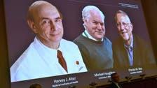 """نوبل من نصيب 3 أطباء لدورهم بكشف فيروس الكبد الوبائي """"سي"""""""