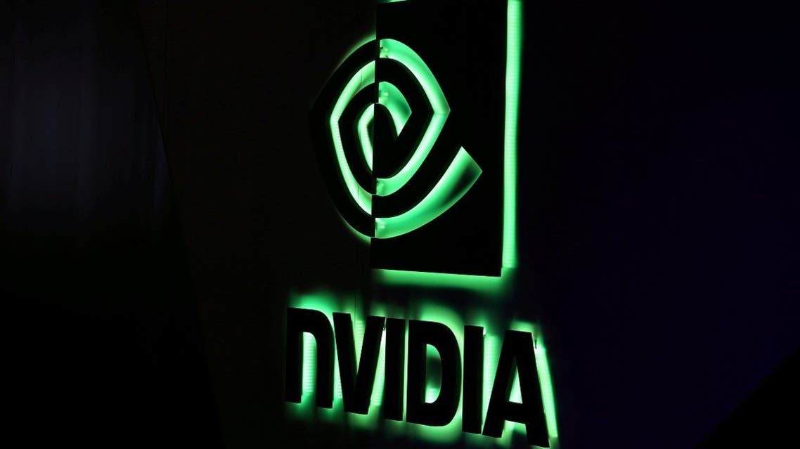 An NVIDIA logo is shown at SIGGRAPH 2017 in Los Angeles, California, US. (Reuters)_449506326_RC21YI9F598M_RTRMADP_3_ARM-HOLDINGS-M-A-NVIDIA
