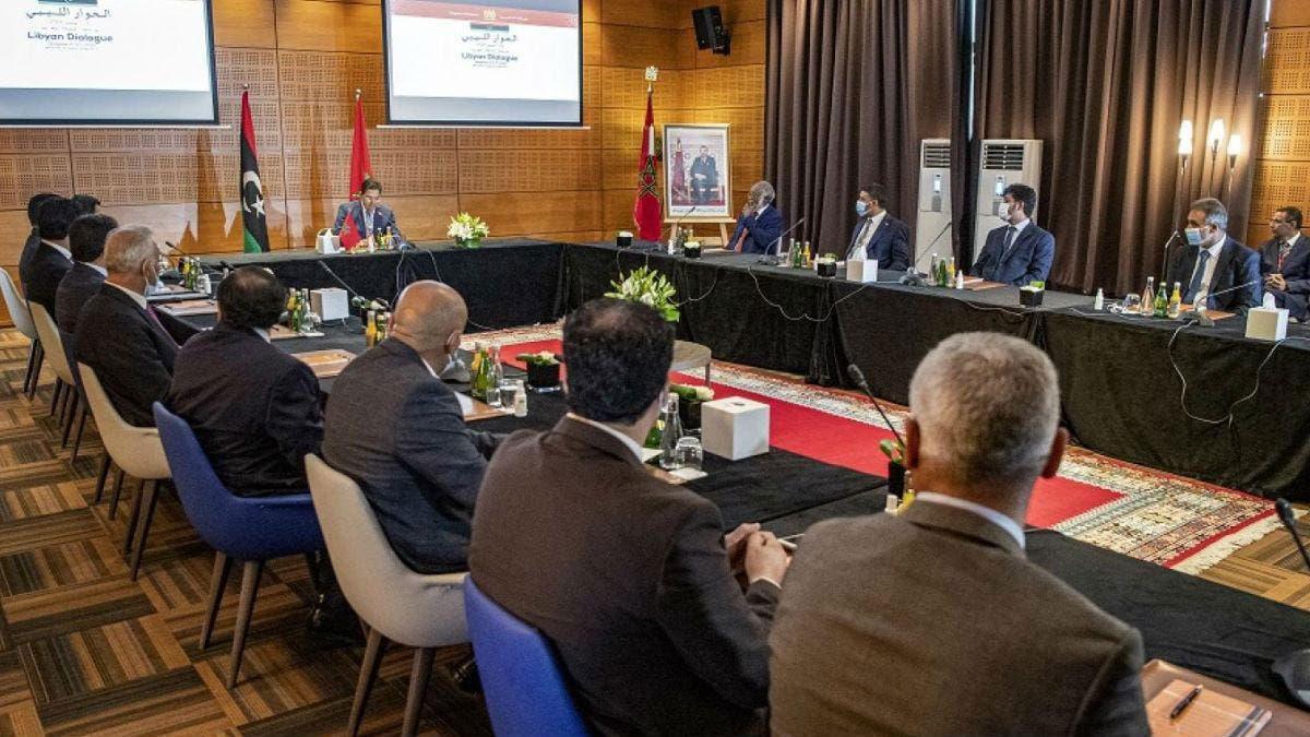 من المفاوضات الليبية في بوزنيقة