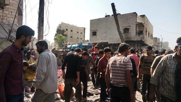 18 قتيلاً.. انفجار الباب خلف إضراباً عاماً