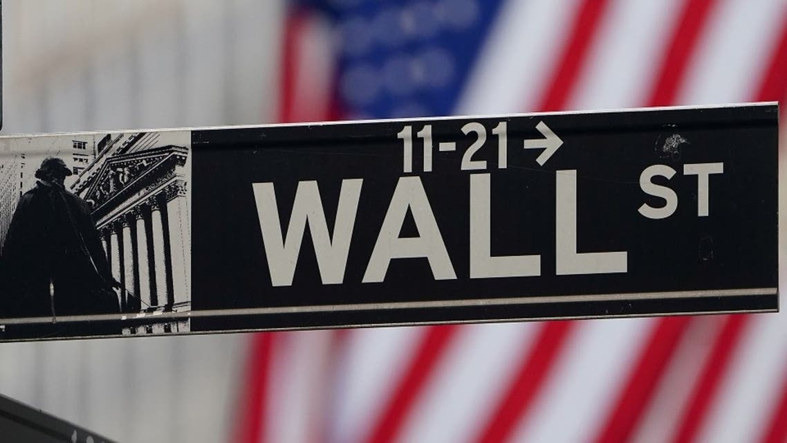 The Wall Street sign is pictured at the New York Stock exchange (NYSE) in Manhattan, New York. (File Photo: Reuters)
