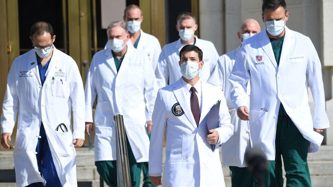 الفريق الطبي لترمب