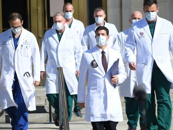طبيب ترمب: وضعه الصحي جيد.. ويمكنه العودة للبيت الأبيض