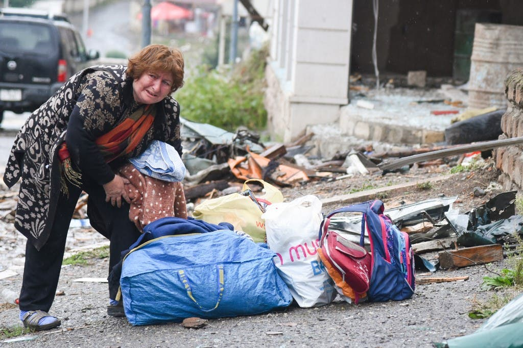 من إقليم كاراباخ - 6 أكتوبر 2020 فرانس برس