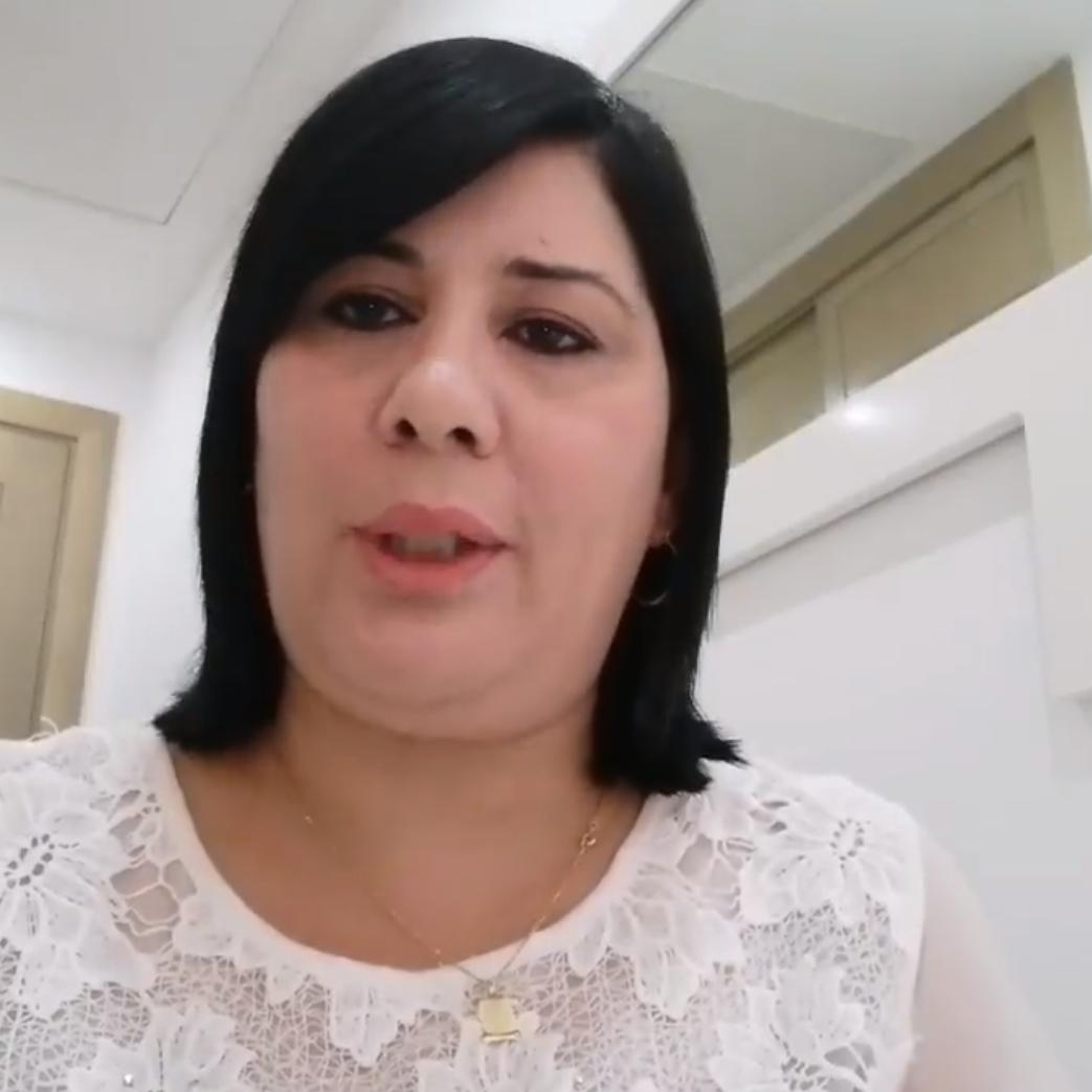 فيديو.. النائبة التونسية عبير موسي تعلن إصابتها بكورونا