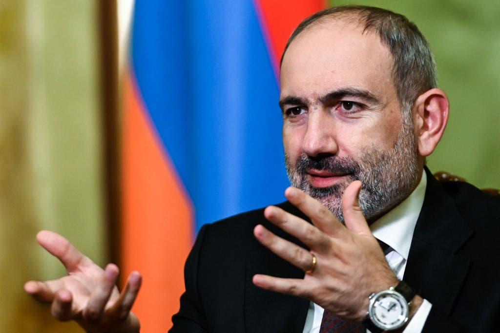 رئيس وزراء ارمينيا نيكول باشينيان