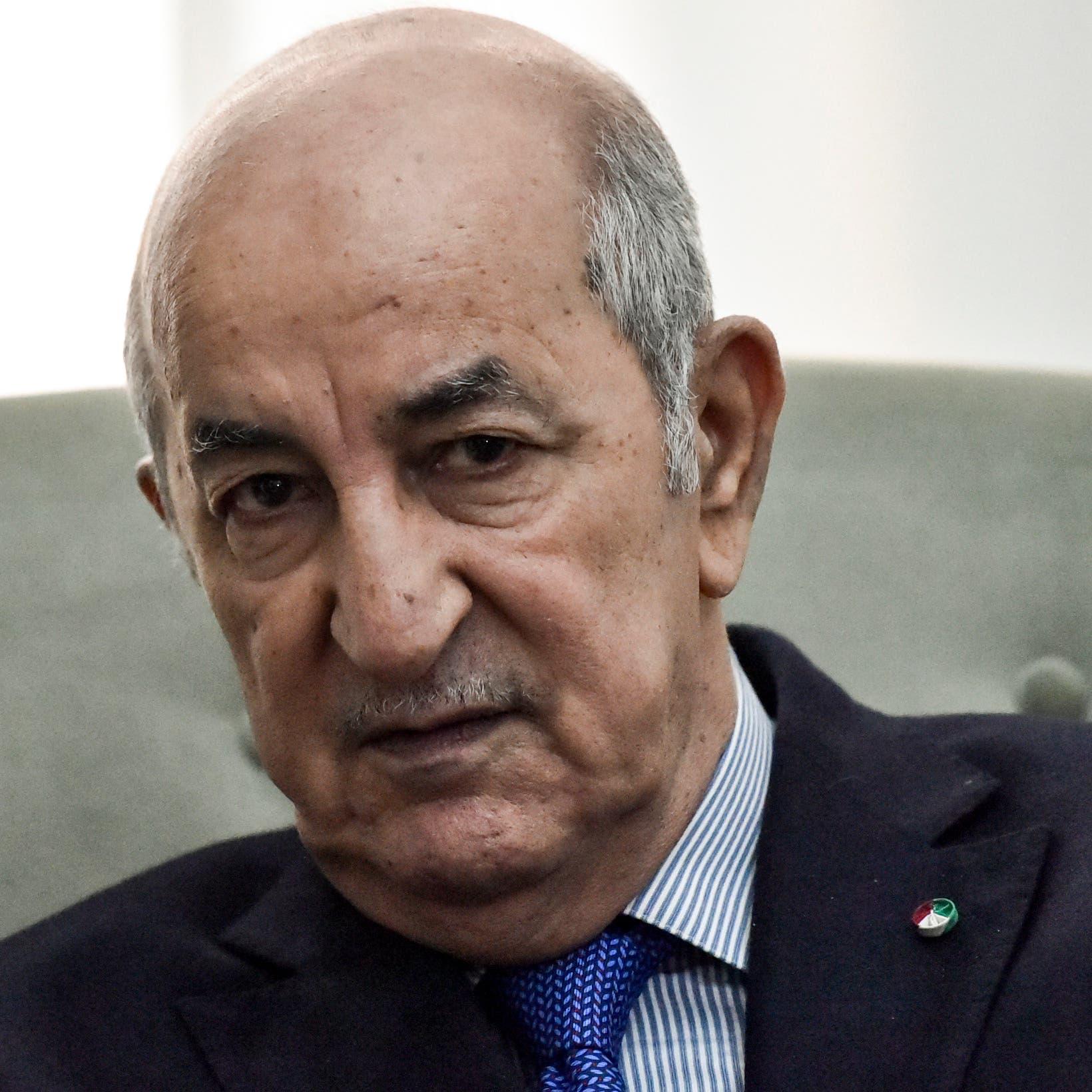 نقل رئيس الجزائر للمستشفى العسكري.. وتأكيد حكومي على سلامته