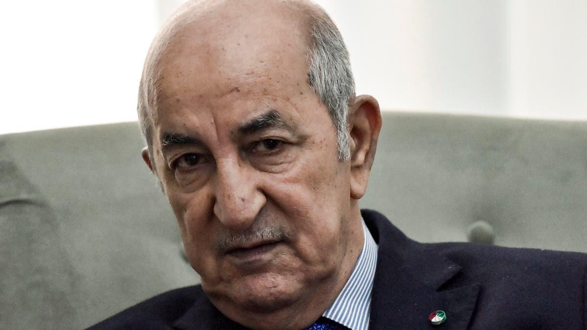 رئيس الجزائر يحل البرلمان.. ويعلن عن تعديل حكومي