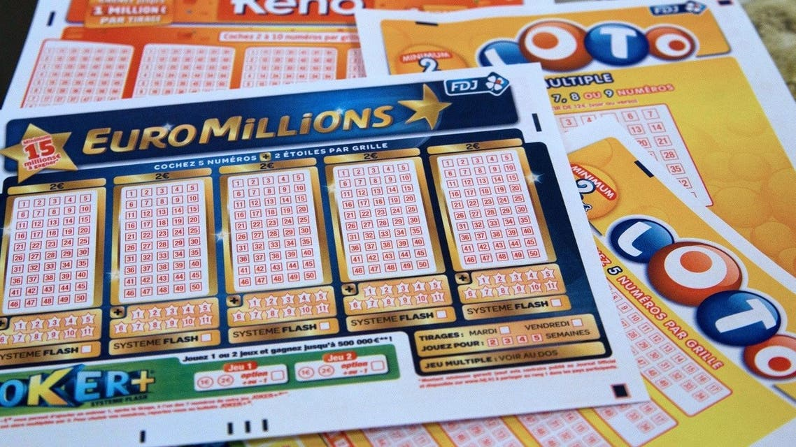French grids of EuroMillions, Loto and Keno by Francaise des Jeux (FDJ), the operator of France's national lottery games, are pictured on July 12, 2012 in Paris. (AFP/Marion Berard)