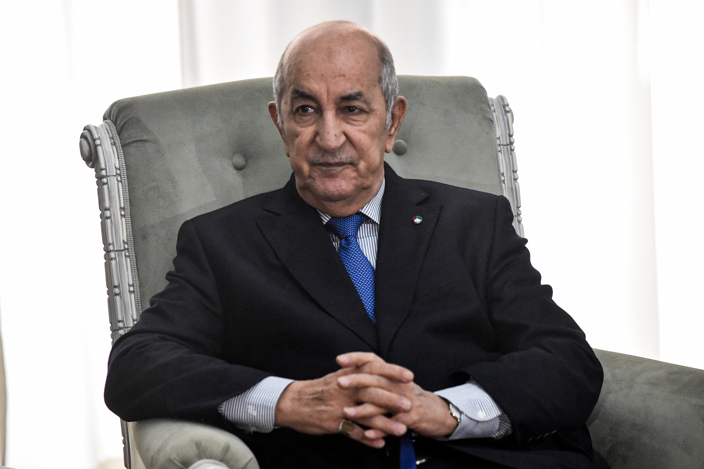 الرئيس الجزائري عبد المجيد تبون (أرشيفية- فرانس برس)