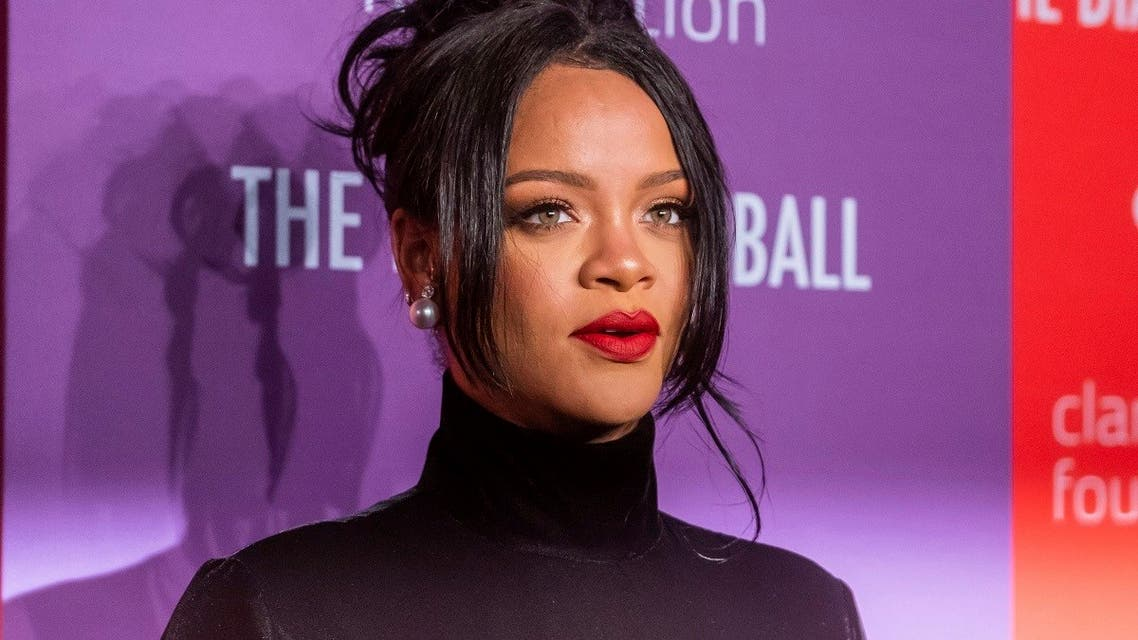 Rihanna attends the 5th annual Diamond Ball benefit gala at Cipriani Wall Street on Sept. 12, 2019, in New York. (AP)