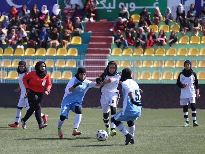 فصل چهارم رقابتهای لیگ برتر فوتبال زنان افغانستان در کابل آغاز شد